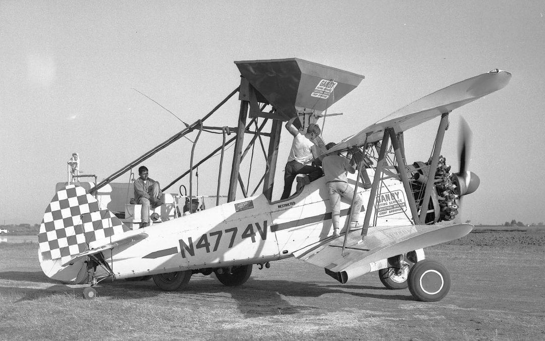 1950's & 1960's Biplane Dusters